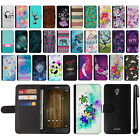 "For Alcatel Fierce 4 Allura 5056 Pop 4+ 5.5"" Design Wallet Card Case Cover + Pen"