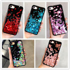 Luxury Glitter Heart Dynamic Liquid Quicksand Back Case Cover For iPhone 7 7Plus