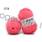 Wholesale!popular colors Super Soft Natural Smooth Bamboo Cotton Knitting Yarn W