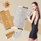 Sparkle Bling Crystal Evening Clutch Purse Wedding Party Prom Hangbag Ball Bag