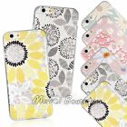 Fruit Flower Pattern Emboss Soft TPU/Gel Clear Case Cover For iPhone 6 6S Plus