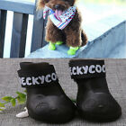 WaterProof Pet Rain Shoes Boots Socks Anti-slip Rubber Boot for Small Big Dogs