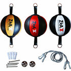Real Leather Double End Ball Speed Ball MMA Floor To Ceiling Punch Bag