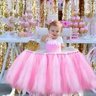 Glitter Tulle High Chair Skirt Baby Shower 1st Birthday Party Decor 39X13.5inch