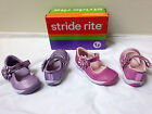 New STRIDE RITE Baby Girls Haylie Pink or Purple Pick size 4.5 or 5 Free US Ship