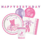 Rose BALLERINA Party Arts De La Table & Décorations Anniversaire/Serviette/