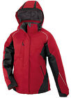 North End Women's Color-Block Jacket Insulated Hooded Warm Winter Fashion Coat
