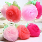 Great Baby Girls Chiffon Rose Flower Hair Clip Hairpin for Kids Toddler
