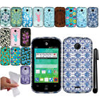 For ZTE Prelude 2 Z667G TPU Gel SILICONE Rubber SKIN Soft Case Phone Cover + Pen