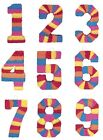 Number PINATA - Childrens Birthday Party Adult Fun Game Activity Decorations