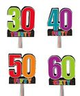 "Party PINATA (Birthday Cheer) 20"" x 18"" (Birthday/Age/Fun/Game/Activity)"
