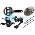 New 2017 Shimano Deore XT M8000 11-speed Full Group Groupset 30/32/34t 170/175mm