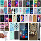 For Microsoft Nokia Lumia 650 Cute Design TPU SILICONE Case Phone Cover + Pen