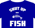 Fishing T Shirt up to 5XL, fisherman, rod, reel, boat gift
