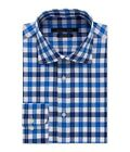 Sean John Mens Plaid Button Up Dress Shirt