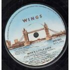 """WINGS (PAUL MC CARTNEY'S GROUP) With A Little Luck 7"""" VINYL South African Mpl"""