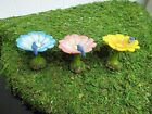 MG165 marshal garden flower birdbath FAIRY GNOME