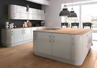 NEW HIGH GLOSS VIVO LIGHT GREY kitchen doors and drawer fronts.