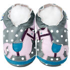 Soft Sole Leather Baby Shoes Boy Girl Infant Toddler Jinwood Crib Booties 0-3Y
