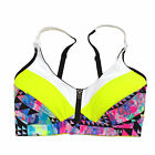 Victoria's Secret Front Close Sports Bra Vsx Wireless Ultimate Active Vs New