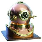 Benzara BRASS DIVING HELMET, Nautical Helmet in Brass, 19 Inch wide