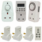 13A Plug-In Daily & Weekly Timers 1 or 3 pack Plug In Adjustable Dimmer