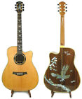 Alulu Acoustic Cutaway Guitar Solid Rosewood Eagle Inlay with EQ - NG Series