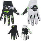 MENS SHOT CONTACT MOTOCROSS MX GLOVES BLOCK GREEN / WHITE gants enduro bike