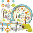 HAPPI WOODLAND BOY - Birthday Party Range - Tableware Balloons & Decorations