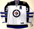 "DUSTIN BYFUGLIEN WINNIPEG JETS REEBOK PREMIER AWAY JERSEY ""A"" NEW WITH TAGS $179.99 USD on eBay"
