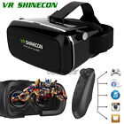 VR SHINECONE Virtual Reality BOX Movie 3D Glasses For iPhone 7 6s Plus +Gamepad