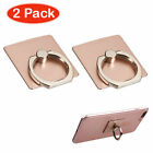 2-Pack Universal Adhesive Ring Stand Mini Kickstand Accessory Cover For Phones