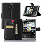 For Blackberry Passport ATT Silver Edition Flip Wallet hard case cover