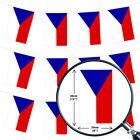 CZECH REPUBLIC EURO FOOTBALL 2016 COUNTRY BUNTING 33FT FLAG DECORATION 20 FLAGS