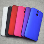 For HTC One E8 Snap On Rubberized Matte Hard case cover