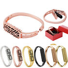 Stainless Steel Replacement Wristband Bangle Strap Bracelet For Fitbit Flex 2