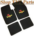 DODGE DEMON Floor Mats Loop Carpet W/ Logo Pick Color Black Embroidered 340 71 $184.5 USD