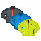 The North Face Mens Jacket Frequentative Puffer Jacket Full Zip Mock Neck New