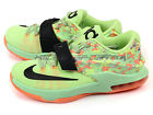 Nike KD VII (GS) Liquid Lime/Black-Vapor Green 669942-304 BG Youth Kids Easter