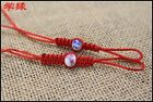 Rope Blue and white porcelain beads Pot of rope 10pcs/lot pot lid string macrame