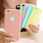 Ultra thin Candy Color Slim Silicome Case Cover For iphone 5 5s SE 6 6s 7 Plus