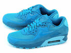 Nike Wmns Air Max 90 PREM Light Blue Lacquer/Clearwater 443817-401 Running Shoes