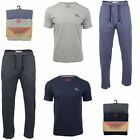 Mens Tokyo Laundry Pyjama Set with Bottoms & Short Sleeved Top