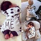 Newborn Infant Kids Boy Girl Baby Cotton Romper Jumpsuit Bodysuit Outfit B20E