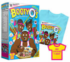 WWE THE NEW DAY Booty O's OFFICIAL AUTHENTIC T-SHIRT + COLLECTIBLE BOX