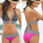 NEW Womens Bandage Beach Bikini Set Push-up Padded Bra Swimsuit Swimwear S M L