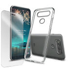 For LG G6 Full Covered ShockProof Durable Flexible Case + 9H Real Glass screen