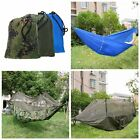 Hammock Bed Tent Mosquito Net Outdoor Hammock Travel Bed with Portable Bag US