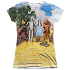 Wizard Of Oz On The Road Sublimation Junior T-Shirt