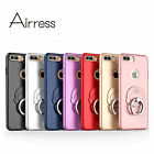 Airress Ultra-thin Phone Case With Ring Buckle Kickstand For iphone 7 7 plus